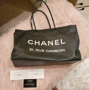 Chanel Rue Cambon tote